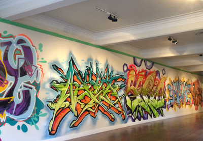 Graffilthy mural