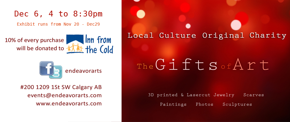The Gifts of Art exhibition. Gifts for the holidays