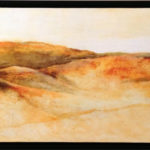 Acrylic on birch panel, 20x60in. Janie Lockwood. $1,999