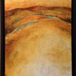 Acrylic on canvas, 36x18in. Janie Lockwood. $950
