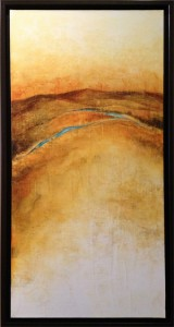 Acrylic on canvas, 36x18in. Janie Lockwood. $950