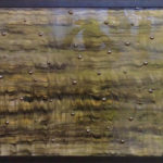 Colored resin, metal on canvas, 26x38in Nikki Gour. $1350