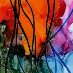 Eden's Glory, 12x9in, $320. Karen Biko.