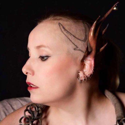 Performance Artist Extraordinaire and Nude Art Model